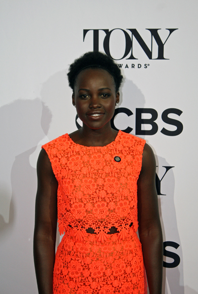 "Lupita Nyong'o is nominated for her leading role in the play ""Eclipsed"" 