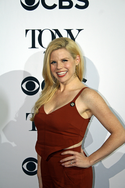 "Megan Hilty of ""Smash"" fame is nominated for her featured role in the play ""Noises Off"" 