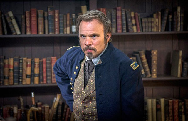 "Norbert Leo Butz as Dr. Byron Hale on the PBS series, ""Mercy Street"""