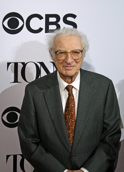"The great Sheldon Harnick, who wrote the lyrics for ""The Fiddler on the Roof,"" among other shows, is receiving a Special Tony Award for Lifetime Achievement in the Theatre 