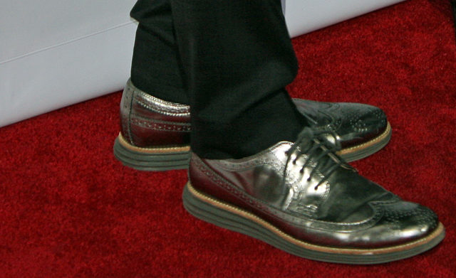 Steve Martin's shiny shoes | Melanie Votaw Photo