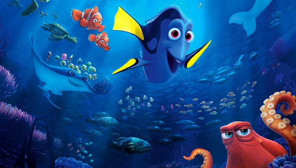New movies finding dory central intelligence for Dory fish movie