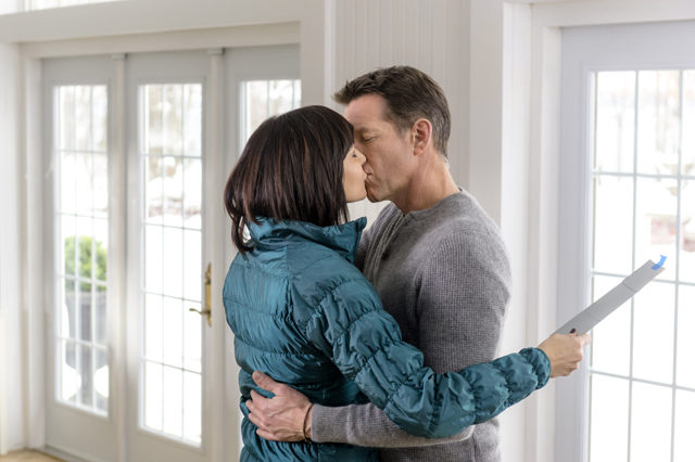"Catherine Bell and James Denton in ""The Good Witch"" 