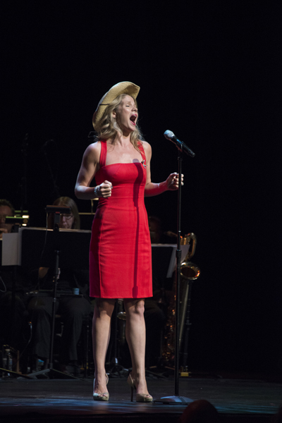 "Kelli O'Hara performs at ""From Broadway with Love"" in Orlando 