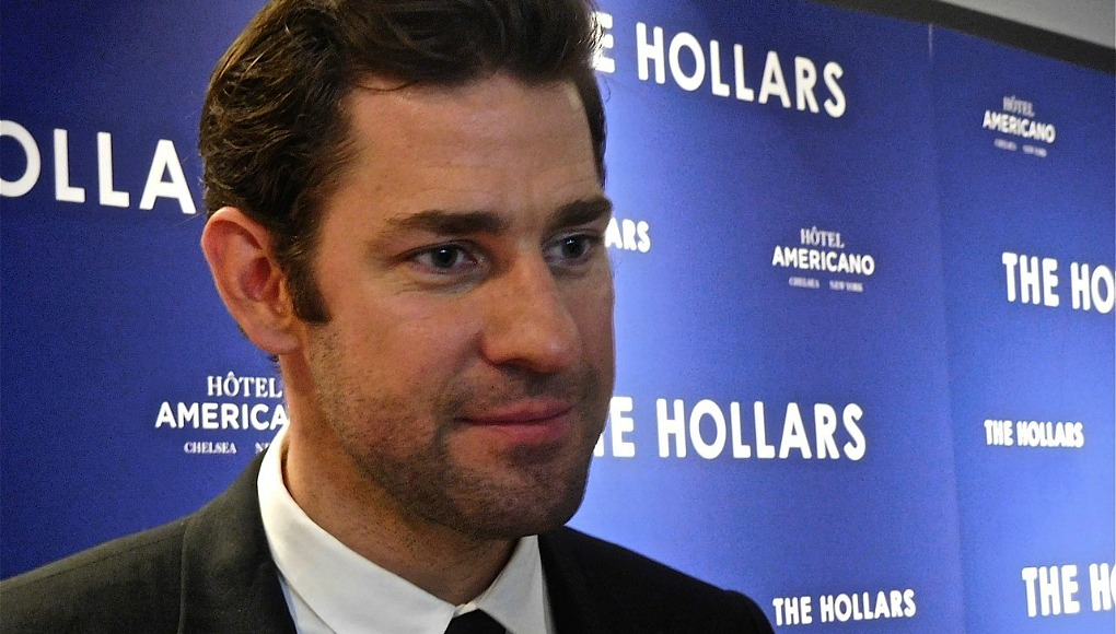 John Krasinski says Emily Blunt thought he was watching porn