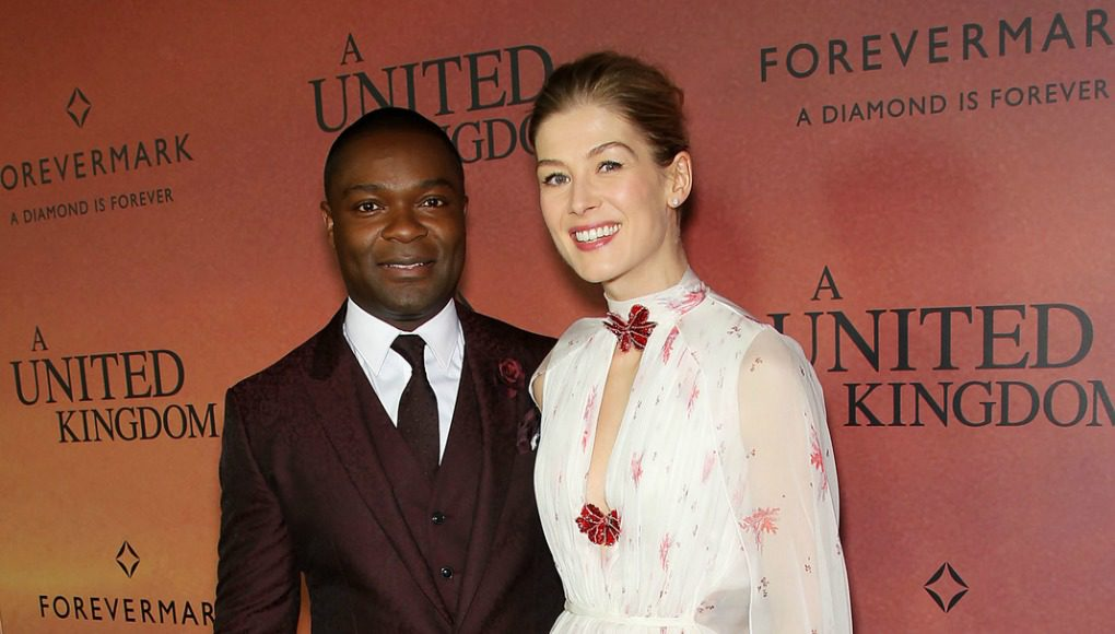 A United Kingdom, Rosamund Pike, David Oyelowo