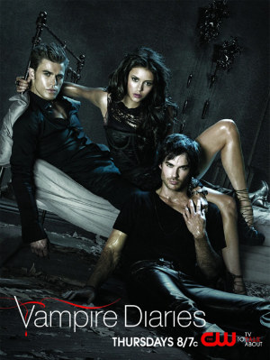 the vampire diaries, season 2 poster