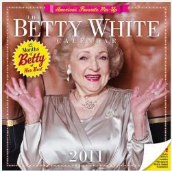 Betty White Calendar, 2011