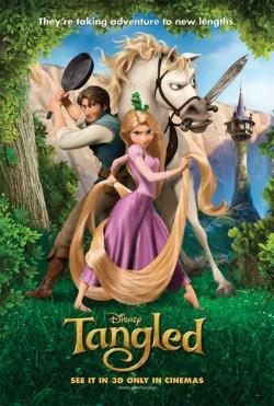 Tangled on DVD & Blu-ray