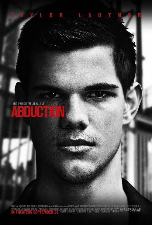 Taylor Lautner, Abduction Poster