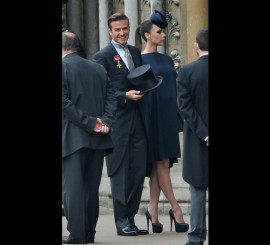 Royal Wedding, David and Victoria Beckham