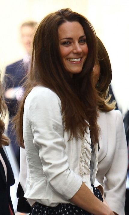 Royal Wedding, Kate Middleton arrives at Goring Hotel
