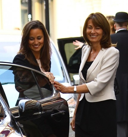 Royal Wedding, Kate Middleton arrives at Goring Hotel
