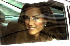 Royal Wedding, Kate Middleton leaves the rehearsal