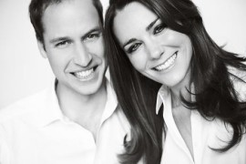 Royal Wedding, Prince William and Kate Middleton official photo