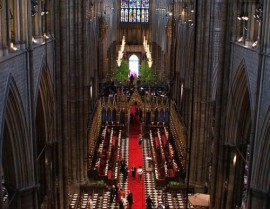 Royal Wedding, Westminster Abbey