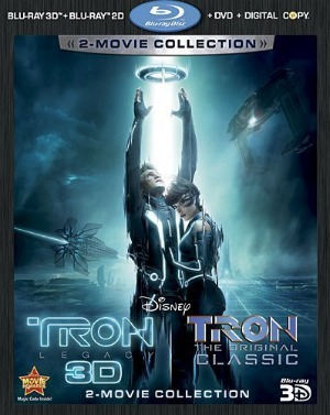 Tron: Legacy DVD and Blu-ray