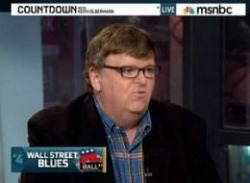 keith olbermann, michael moore