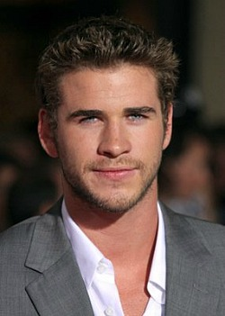 liam hemsworth, hunger games