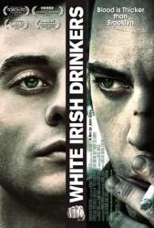 White Irish Drinkers Poster