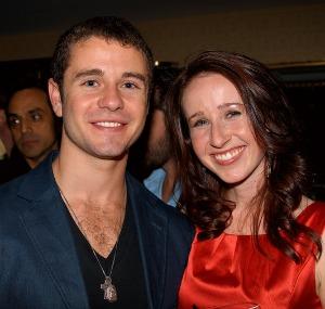 Nick Thurston and Leslie Murphy of White Irish Drinkers