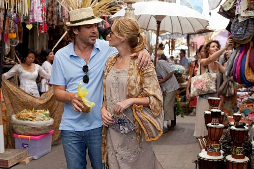 Eat Pray Love, Julia Roberts and Javier Bardem