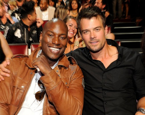 Tyrese Gibson and Josh Duhamel at the MTV Movie Awards 2011