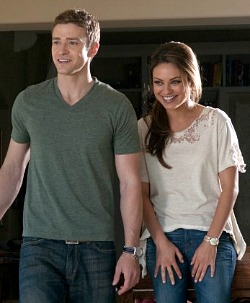 Friends With Benefits, Justin Timberlake and Mila Kunis