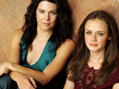 Gilmore Girls, Lauren Graham and Alexis Bledel