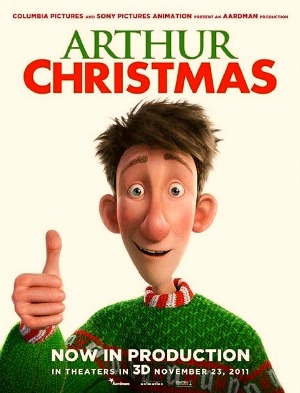 Arthur Christmas Poster.Arthur Christmas Poster Reel Life With Jane