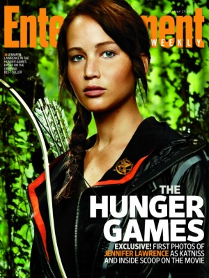 The Hunger Games, Jennifer Lawrence as Katniss Everdeen