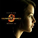 The Hunger Games Poster: Jennifer Lawrence as Katniss Everdeen