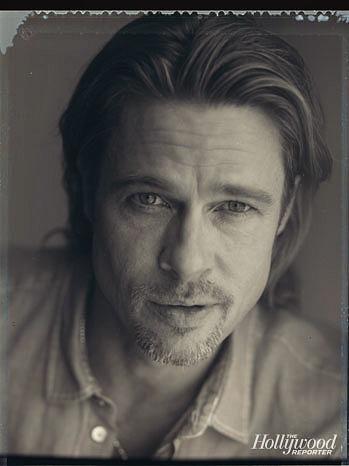 Brad Pitt: Hollywood Reporter Cover Shoot