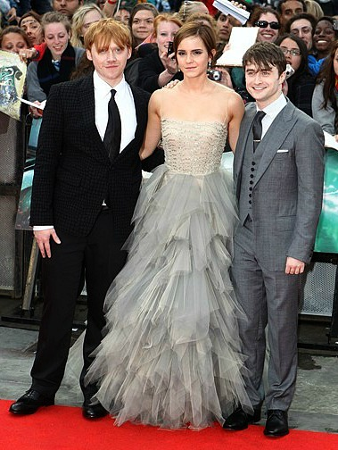 The Harry Potter Crew: Rupert Grint, Emma Watson and Daniel Radcliffe | AP