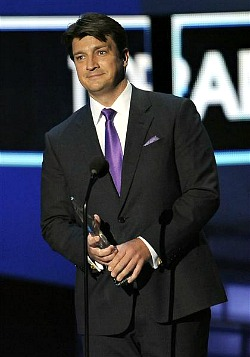 People's Choice Awards 2012: Nathan Fillion of Castle | AP