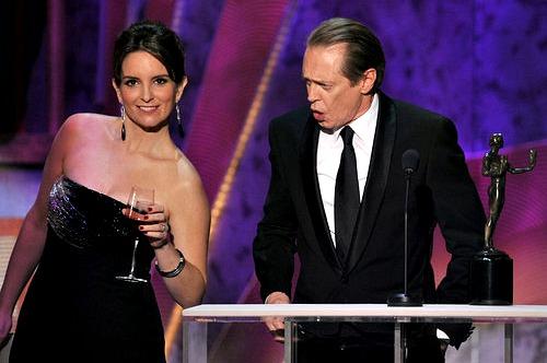 SAG 2012: Tina Fey and Steve Buscemi