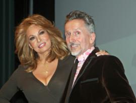 Raquel Welch and Simon Doonan