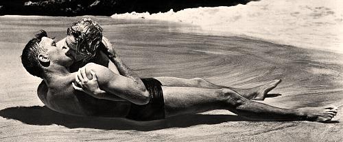 From Here to Eternity beach scene, Deborah Kerr and Burt Lancaster