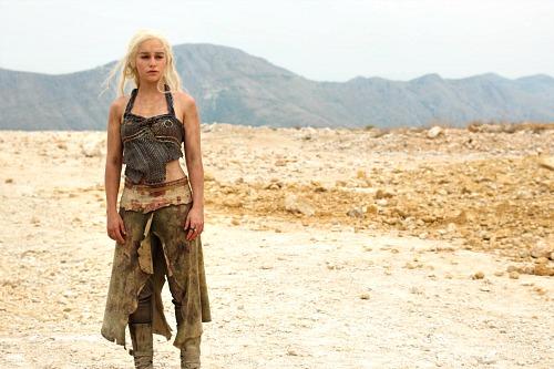 Emilia Clarke as Danereys Targaryen