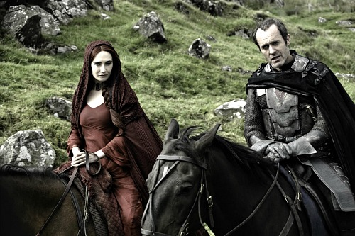 Carice van Houten as Mellisandre; Stephen Dillane as Stannis Baratheon