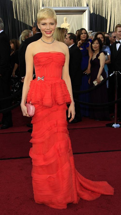 Oscars 2012: Michelle Williams