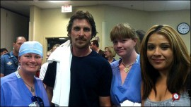 Christian Bale visits shooting victims in Aurora, Colorado