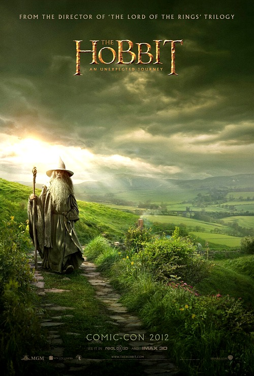 The Hobbit: Comic Con Poster