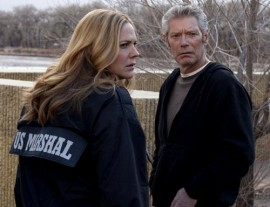Stephen Lang with Mary McCormack on In Plain Sight | USA Network