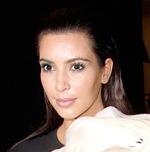 Kim Kardashian and Kanye West in Paris