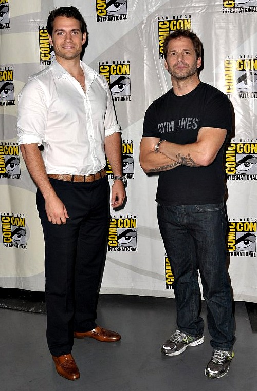 Man of Steel: Henry Cavill and Zack Snyder