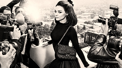 Mila Kunis for Miss Dior Handbags
