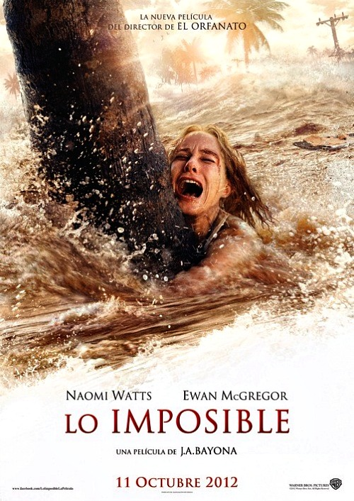 The Impossible starring Ewan McGregor and Naomi Watts