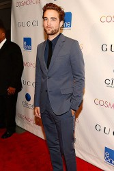 Robert Pattinson wears Gucci at Cosmopolis premiere