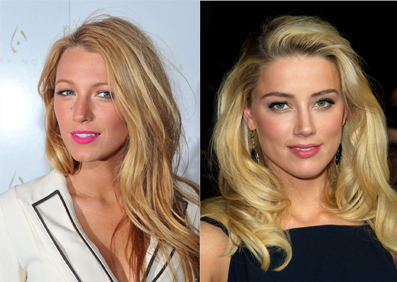 Blake Lively and Amber Heard